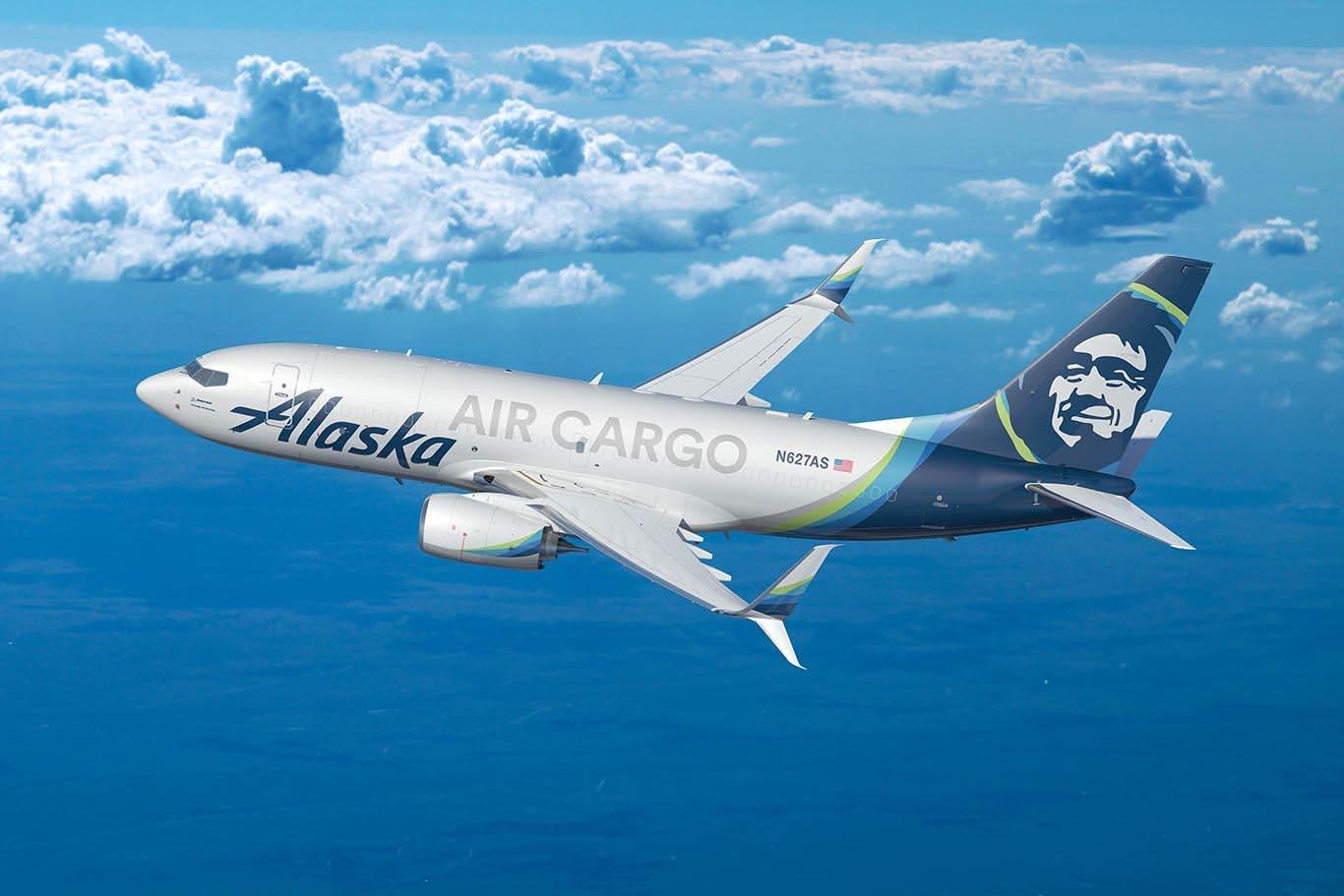 Cargo Alaska Airlines