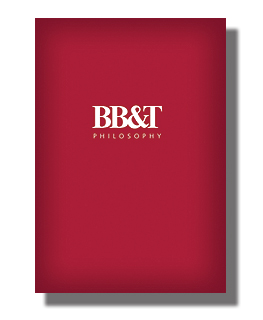 BB&T's multimedia Philosophy Book