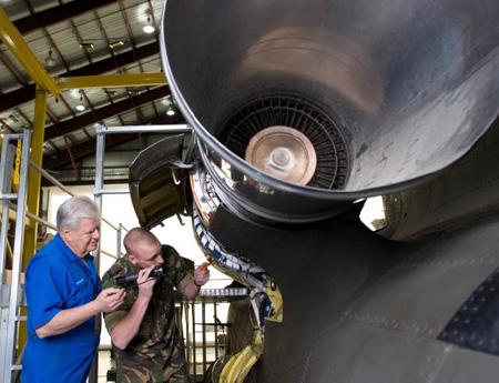 Chinook maintenance trainer