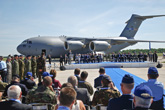 Multinational Alliance's 1st Boeing C-17 Joins Heavy Airlift Wing in Hungary