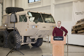 Boeing Laser Demonstrator Program Accepts Oshkosh Military Truck, Enters Fabrication Phase