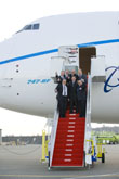 Boeing 747-8 Freighter Successfully Completes First Flight
