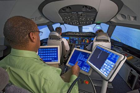Boeing 787 Dreamliner Flight Simulator