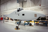 Boeing Paints 1st Production A160T Hummingbird Unmanned Rotorcraft