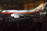 Boeing Celebrates Premiere of New 747-8 Intercontinental