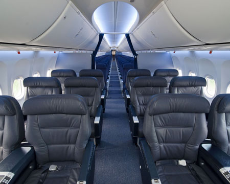 Boeing Delivers Copa Air 1st 737 BoeingSky Interior