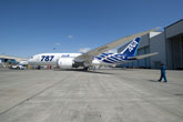 Boeing, ANA Roll Out the First 787 Dreamliner that Will Enter into Service