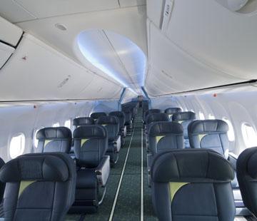 Boeing Delivers RwandAiru0027s First 737 Boeing Sky Interior