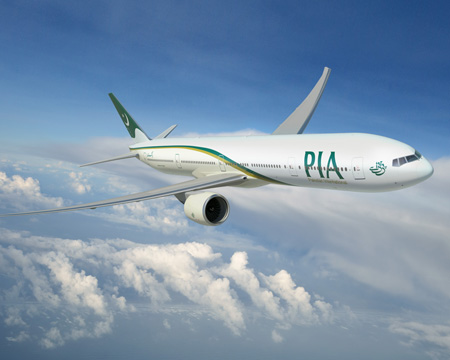 Boeing pakistan international airlines finalize order for five 777