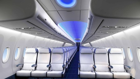 expo single interior cabin configurator aircraft interiors events