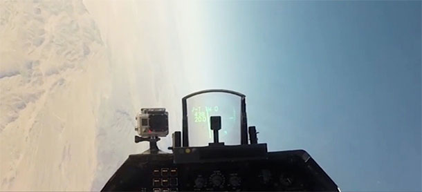 Test missile fired at QF-16 (Video)