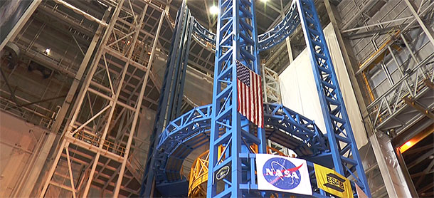 Aerospace's largest tool unveiled (Video)