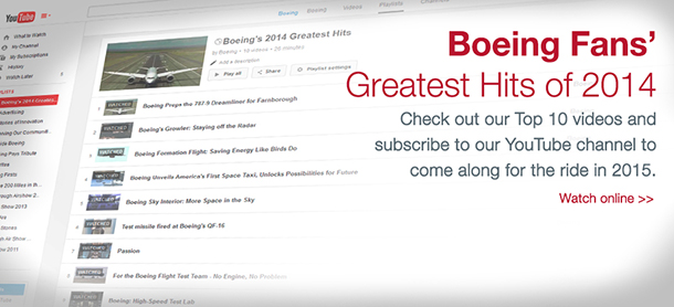 Boeing's YouTube Best of 2014