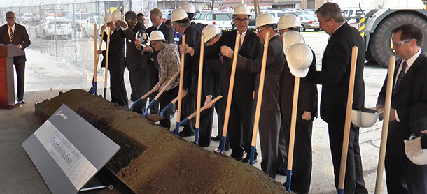 Boeing breaks ground on composite tooling center expansion