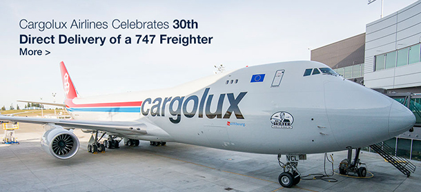 Cargolux Airlines Celebrate 30th Direct Delivery of a 747 Freighter