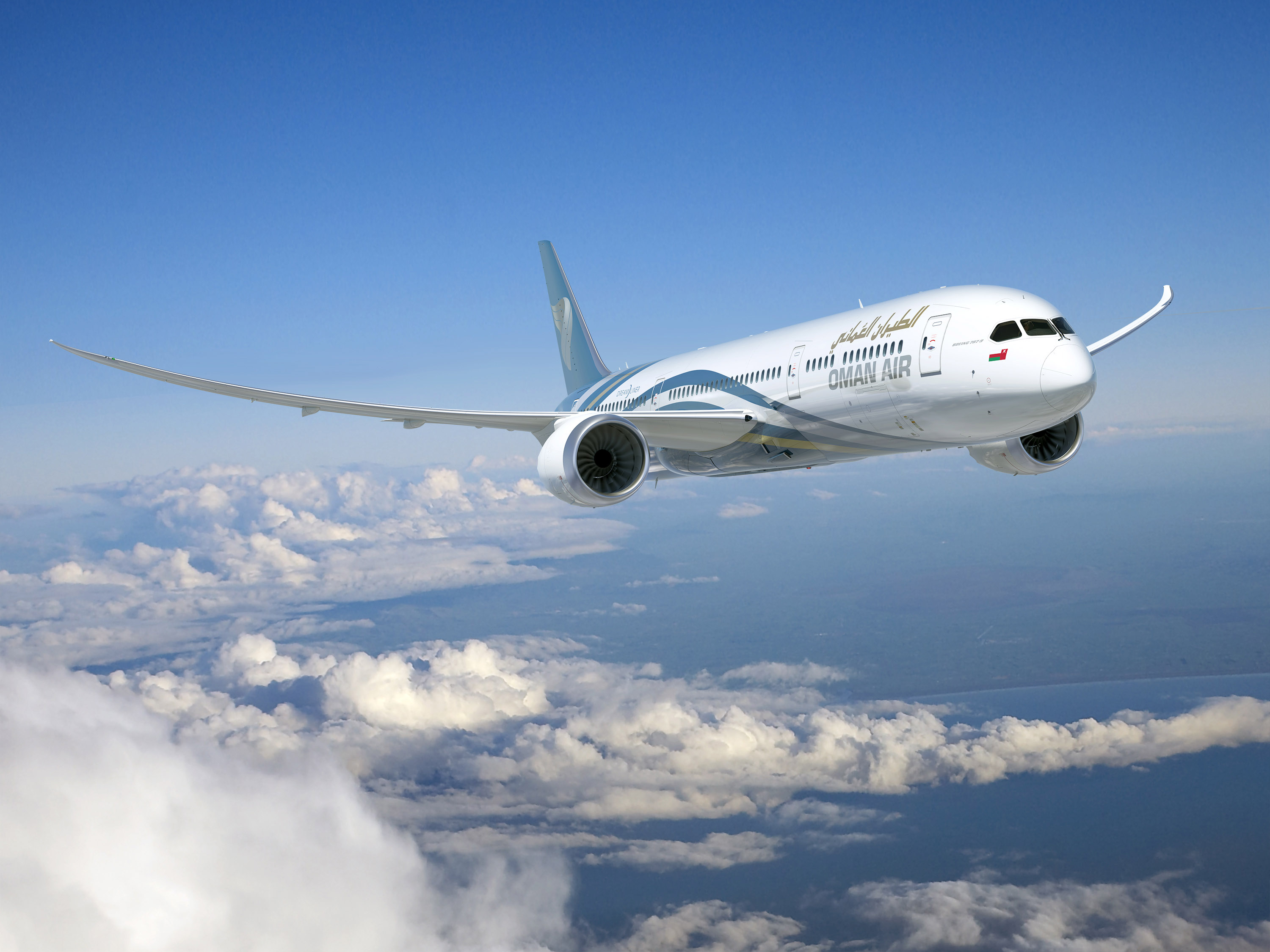 Boeing Services To Support Oman Air 787 Dreamliner