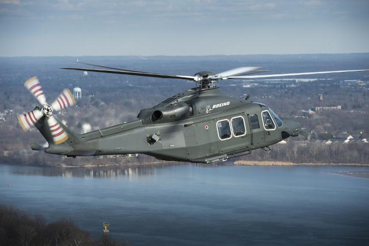 Boeing предложил вертолет MH-139 на замену вертолетов Bell UH-1N ВВС США