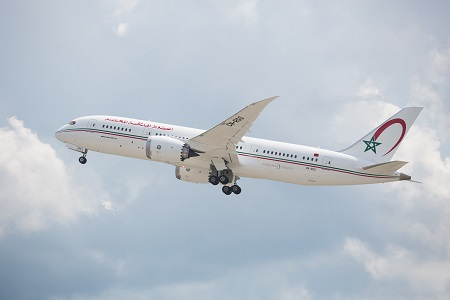 Boeing and Royal Air Maroc Announce Orders for Four 787 Dreamliners on boeing 747sp, boeing y3, boeing kc-135 stratotanker, boeing 377 stratocruiser, boeing x-48, boeing airbus, boeing b-314, boeing b-52 stratofortress, boeing cargo,