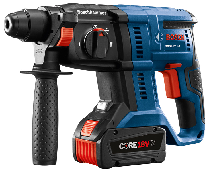 bosch gbh18v 20 sds plus cordless rotary hammer efficient powerful. Black Bedroom Furniture Sets. Home Design Ideas