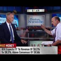 "Boston Scientific CEO and Chairman Mike Mahoney on CNBC's ""Mad Money"""
