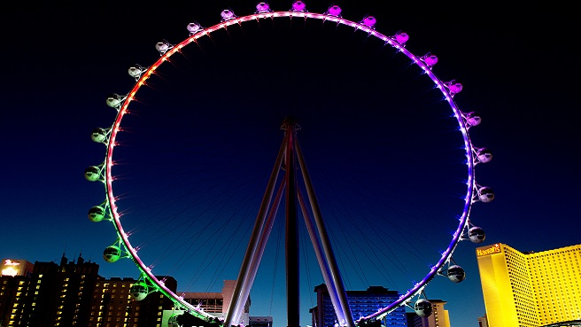 The world's tallest observation wheel, the High Roller at The LINQ offers guests unparalleled views of the city.