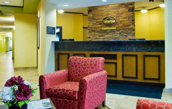 Suburban Extended Stay Hotel Lobby