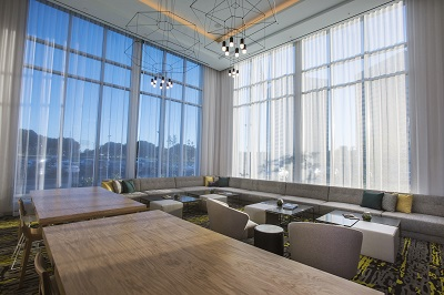 Cambria Hotel & Suites LAX Lobby Seating Area