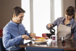 Comfort Brand Suites Breakfast, Coffee pour