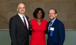 2019 Judicial Excellence Honorees Magistrate Zehe, Judge Fay, and Judge Schutz