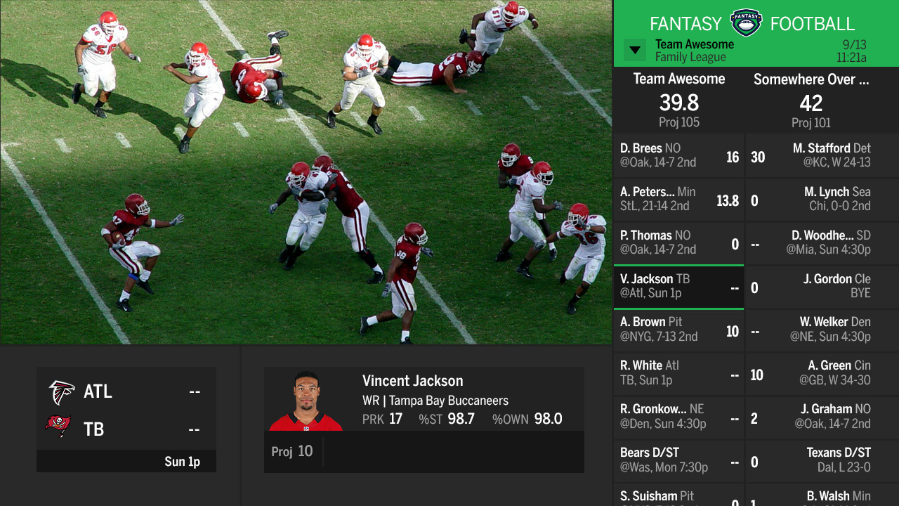 Watch NFL football online or in app - CNET Download.com