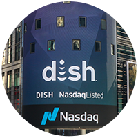 Publicly traded on the NASDAQ Exchange, ticker symbol DISH