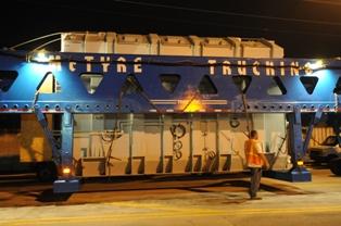 Florida Power & Light Moving Massive Transformer FPL upgrading St
