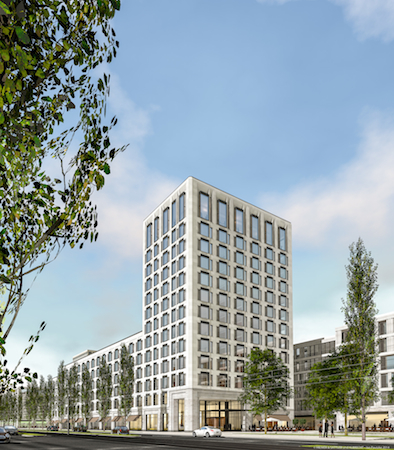 Expected To Open In 2017 Andaz Munich Will Make Its Mark The Bavarian Capital Increasing Brand S Presence Europe Three Hotels