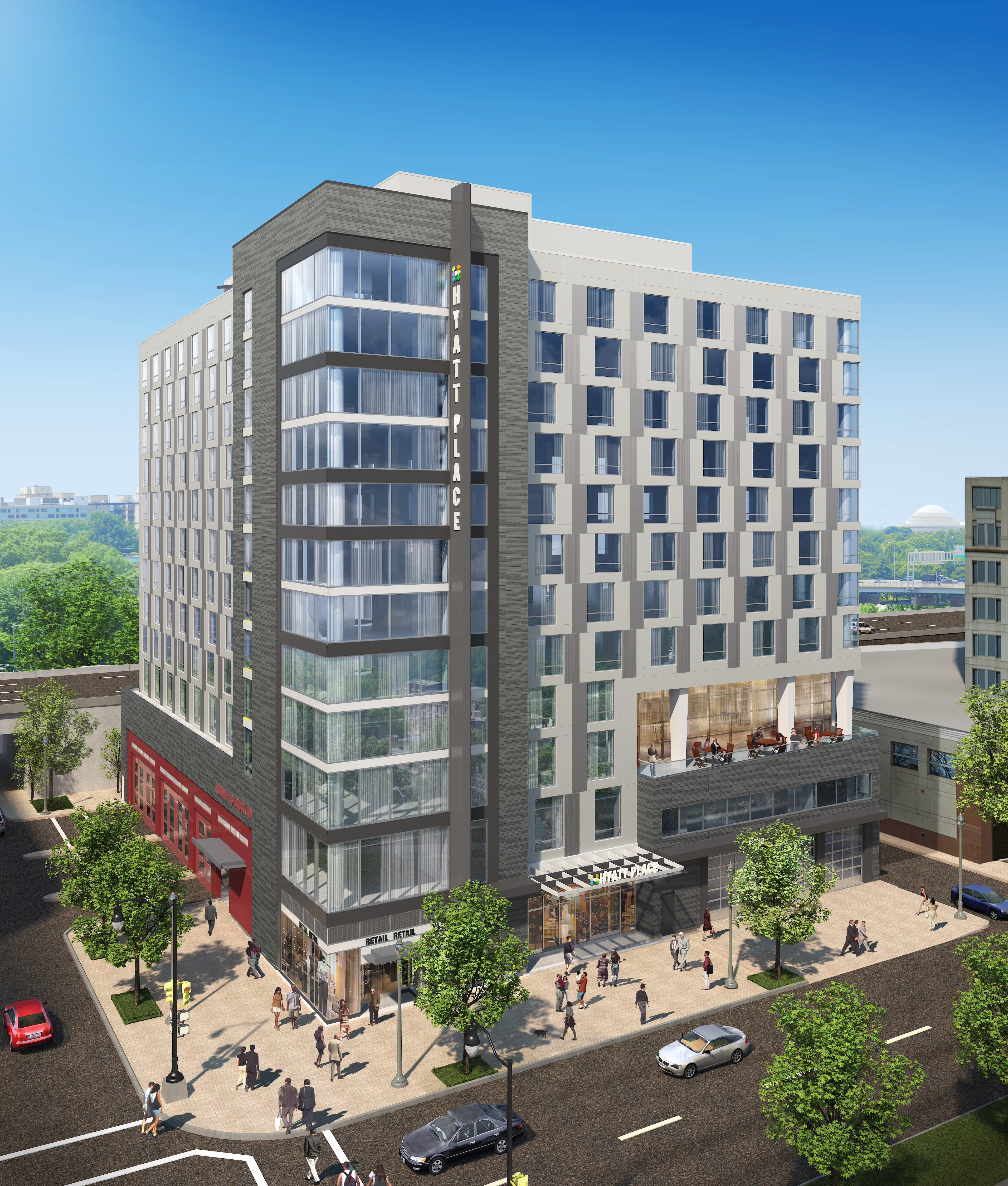 Hyatt newsroom news releases for Hotel design washington dc