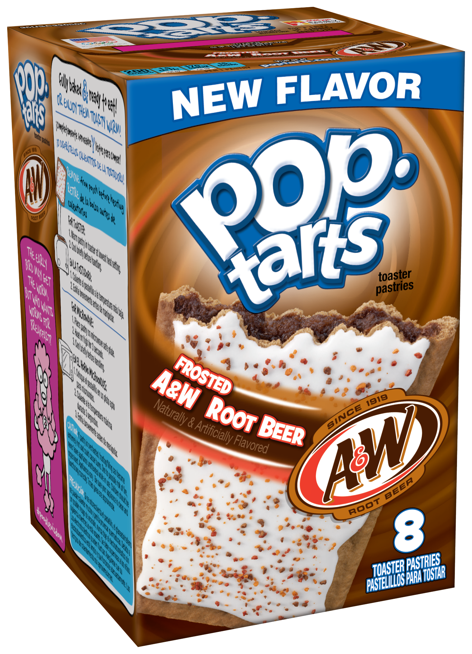 Pop Tarts Frosted AW Root Beer