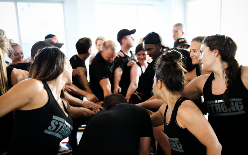 Spartan and Life Time Transform Gritty Race Experience into  New Intense Group Fitness Class—Spartan Strong
