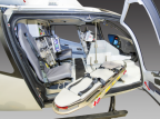 LifePort medical interior for the H130 aircraft.