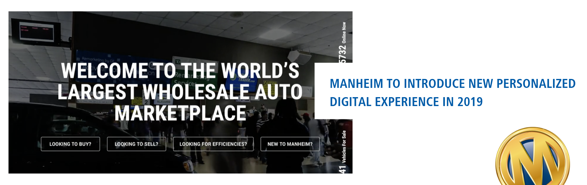 Manheim to Introduce New Personalized Digital Experience in 2019