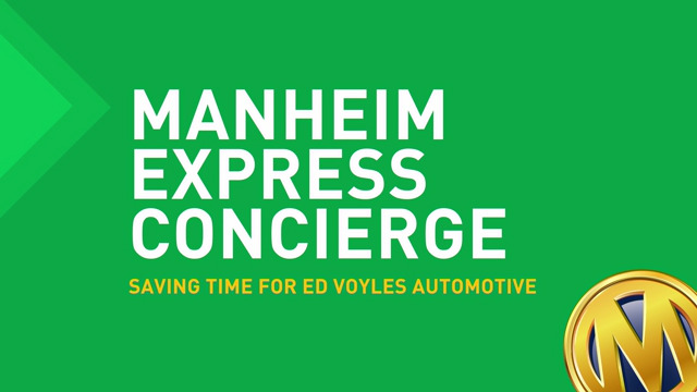 Manheim Express Concierge Service, Now Available Nationwide