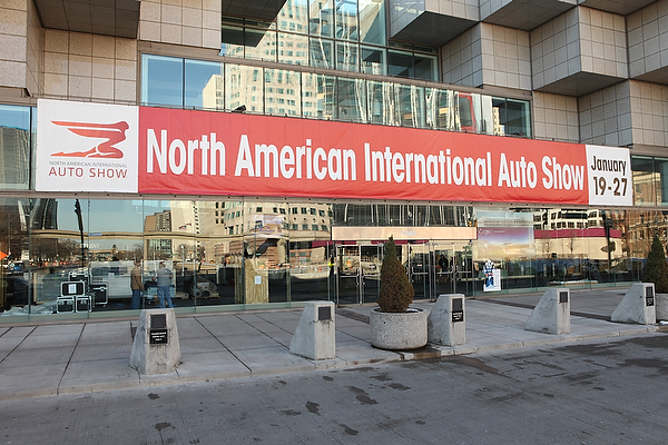 Press Preview Has Begun at Cobo Hall in Detroit