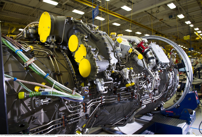 mediaroom multimedia F135 Engine Design f135 engine on assembly line
