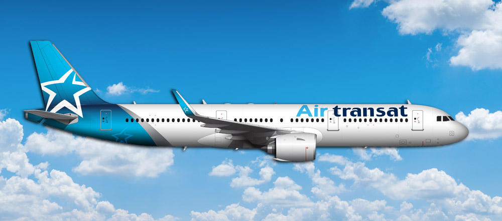 Air Transat Selects Pratt & Whitney GTF™ Engines to Power 17 A321neo Family Aircraft from AerCap