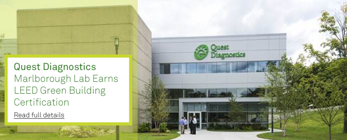 Quest Marlborough Lab - LEED Certified