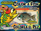 New bilingual kids fishing and boating coloring book