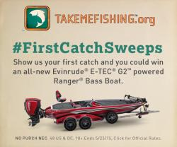 #FirstCatchSweeps banner ad