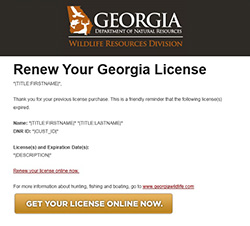 Georgia Rbff Successful In Retaining First Time License