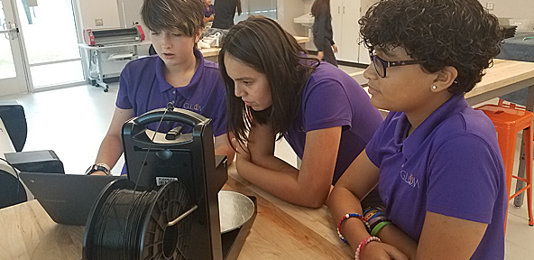 SunTrust Foundation Awards $500,000 Grant to Girls Leadership Academy of Wilmington to Establish Makerspace