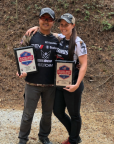 Bushnell team shooters KC Eusebio and Jessie Harrison