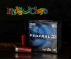 Federal ammunition with Kids & Clays logo