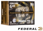Box of Federal New Punch Defense Ammunition